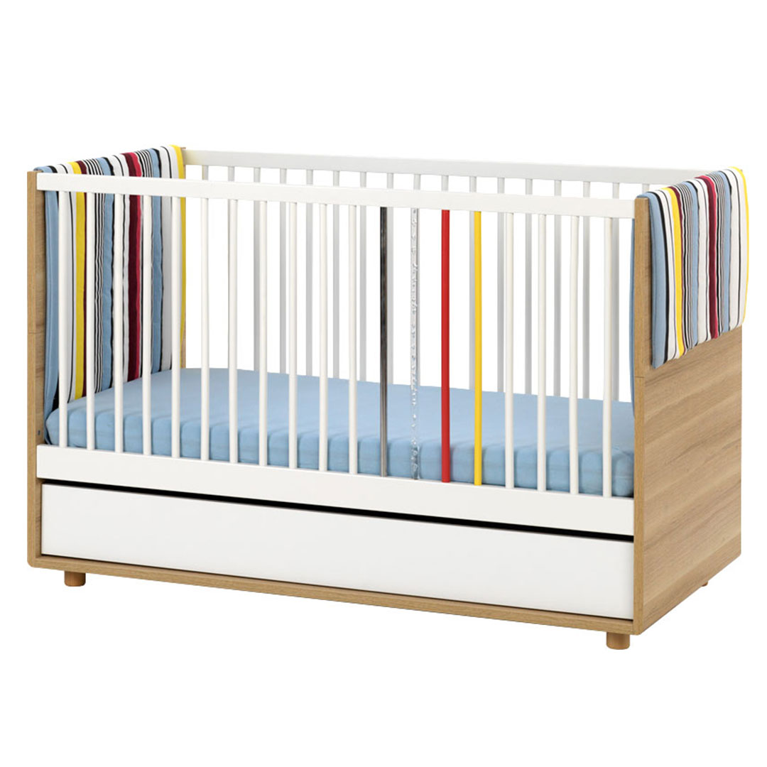 Evolve Cot Bed - Colourful