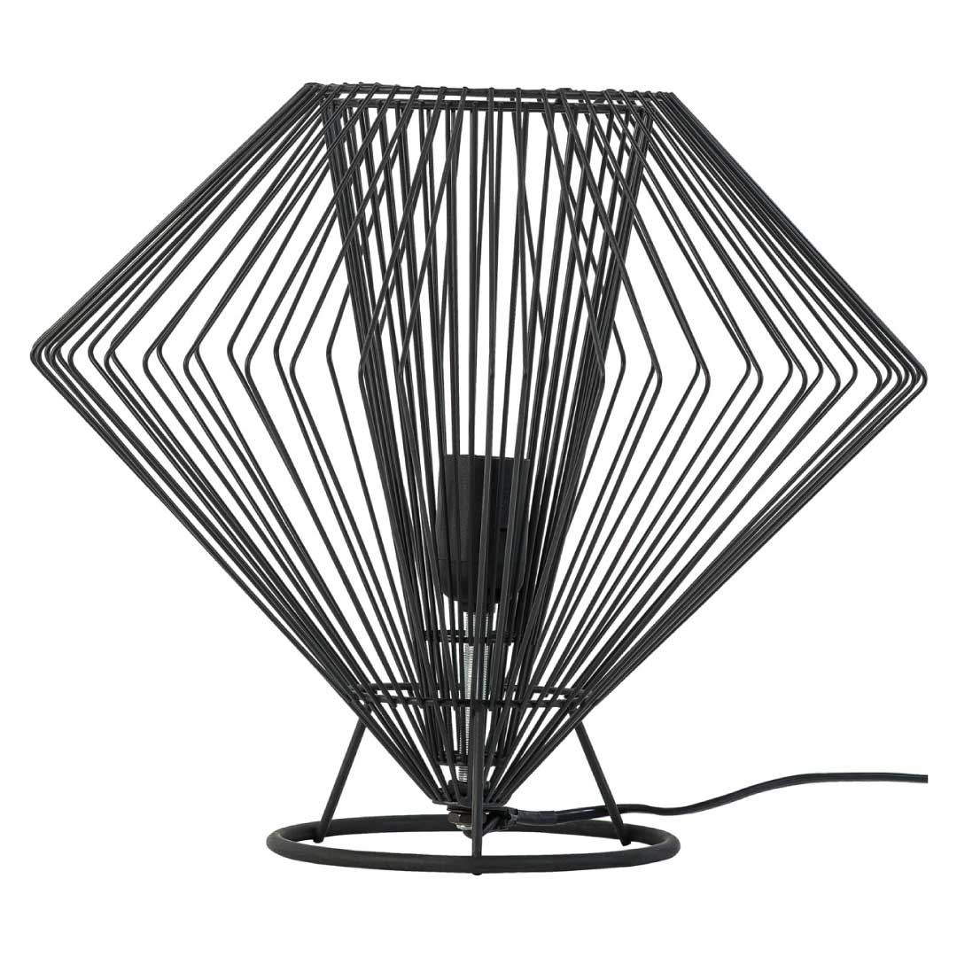 Cesto Low Table Lamp Black