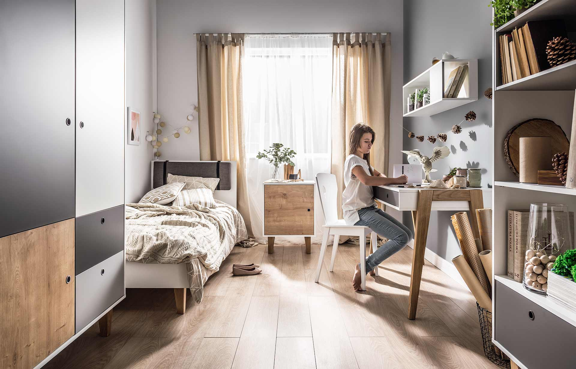 the concept teen bedroom  vox furniture south africa