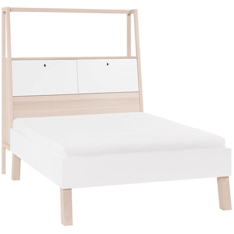 Spot Double Bed Incl Storage Headboard