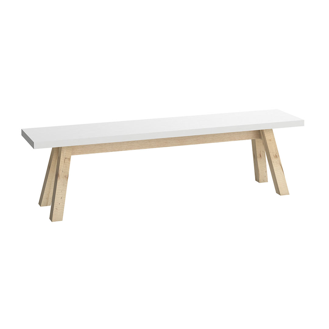 4You Bench - White