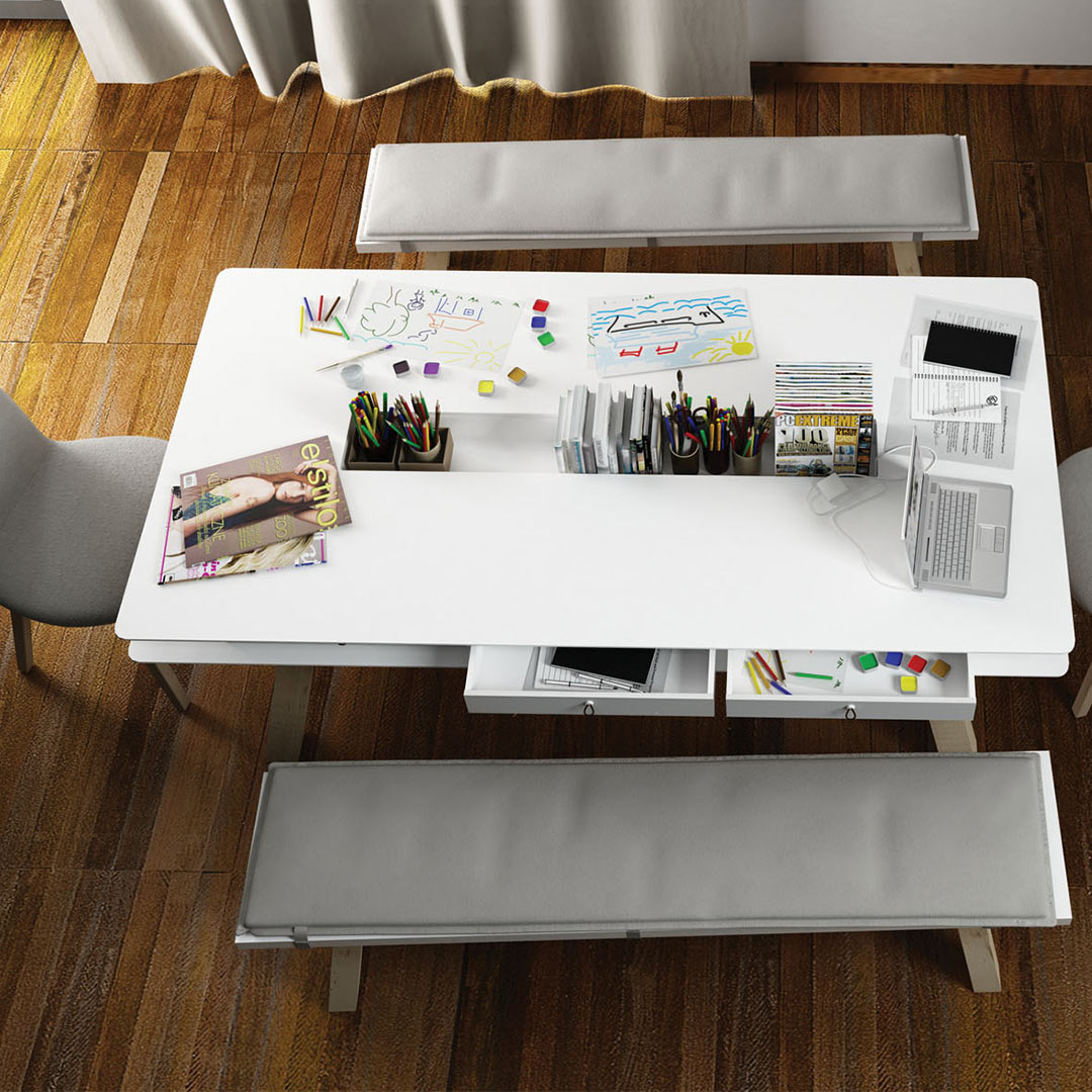 Vox 4You Dining Table - White