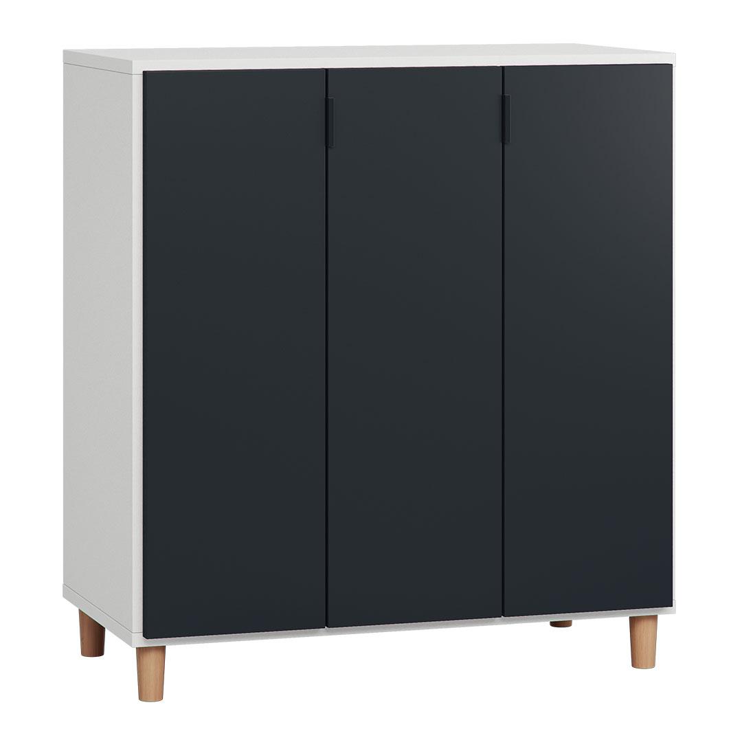 Simple Cupboard – White & Black