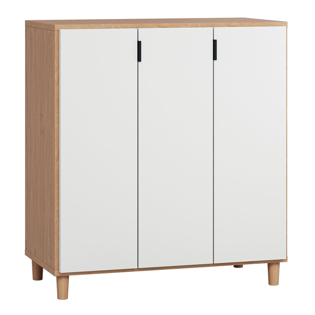 Vox Simple Cupboard - Oak & White