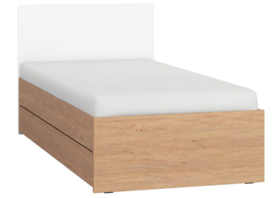 Vox Simple Single Bed - White