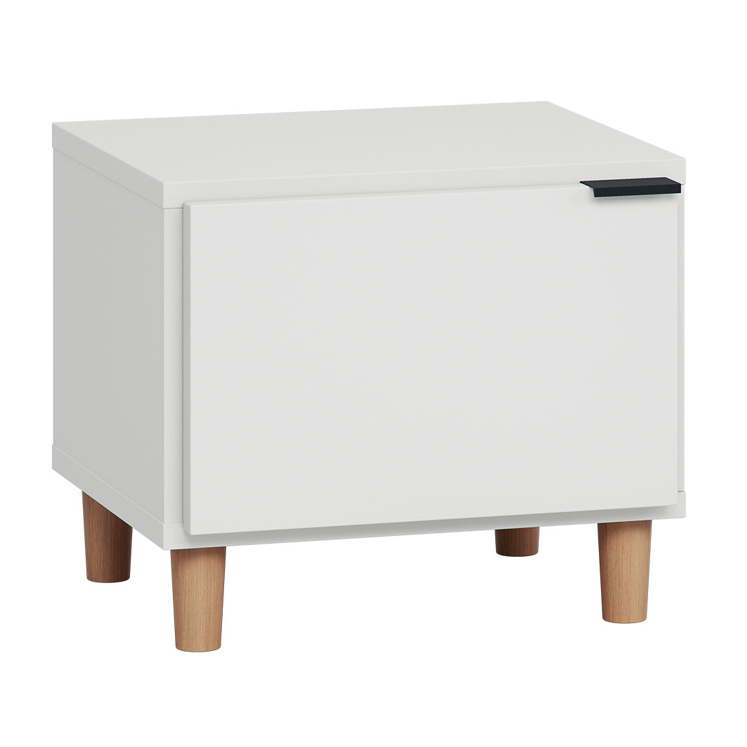Vox Simple Nightstand - White