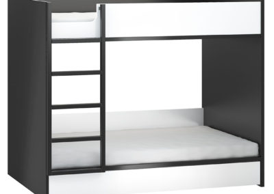 Young Users Storage Bunk Bed