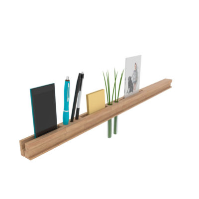 Set of Accessories for Dresser with Functional Slat