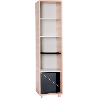Evolve Narrow Bookcase