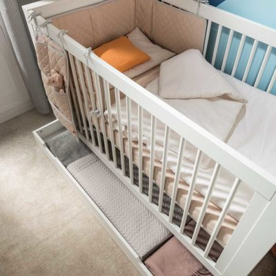 Milk Convertible Cot Bed
