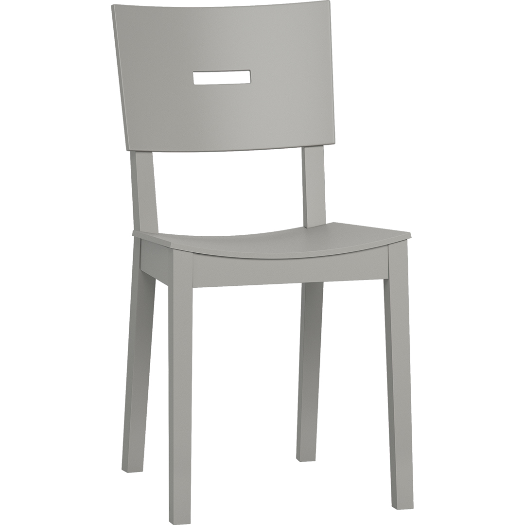 Simple Chair - Grey