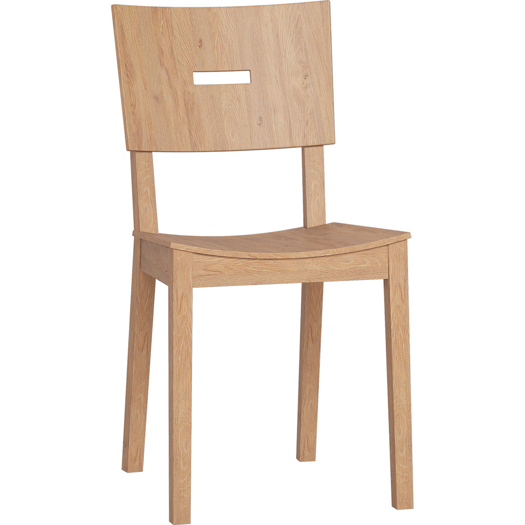 Simple Chair - Oak