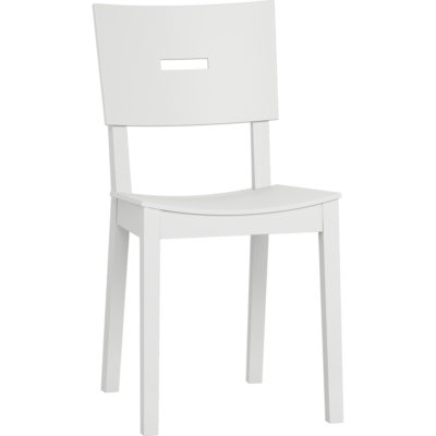 Simple Chair - White