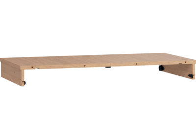 Simple Round Table Extension Panel - Oak