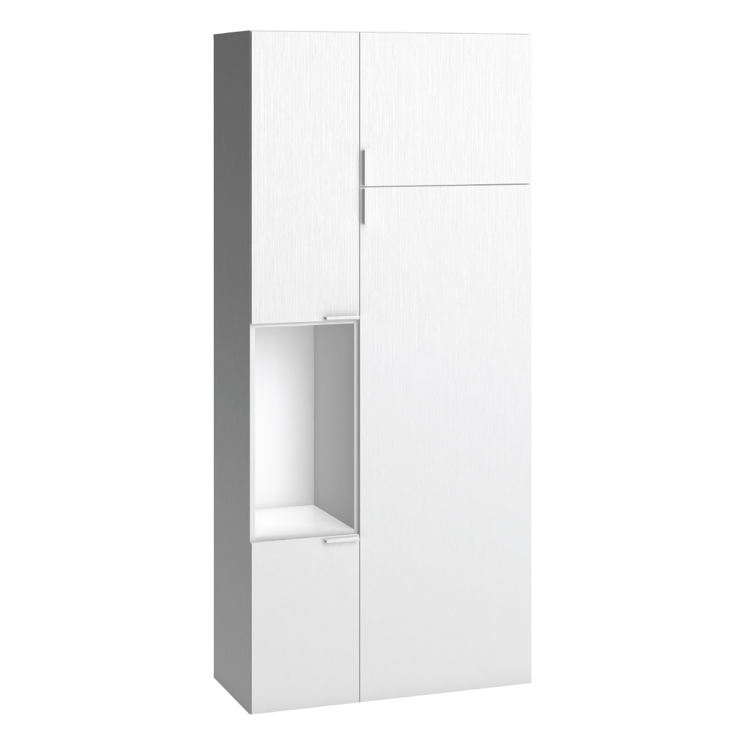 Vox 4You Two-Door Wardrobe - White