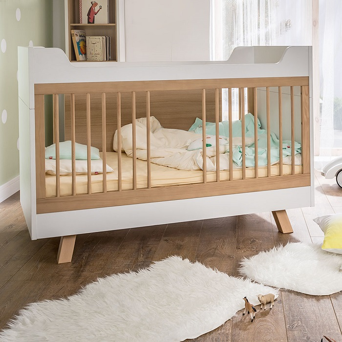 Creating a Versatile Nursery With the 4You Baby Collection - Convertable Cot Bed