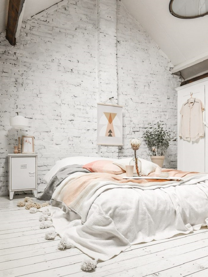 How to Style an All White Bedroom - Splashes of Colour