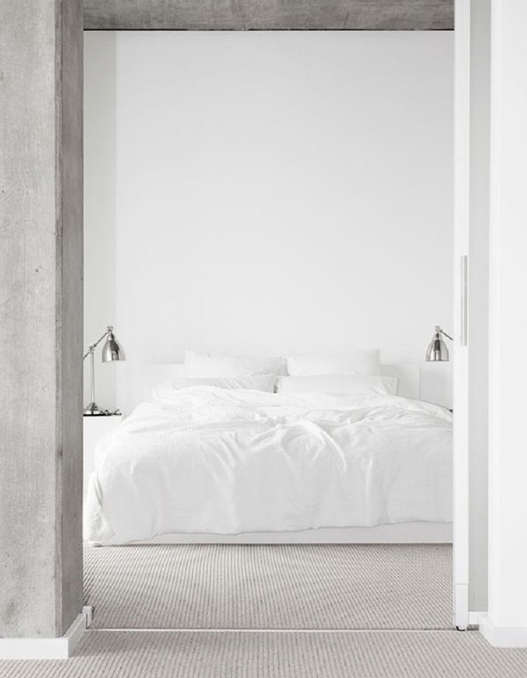 How to Style an All White Bedroom - Walls and All