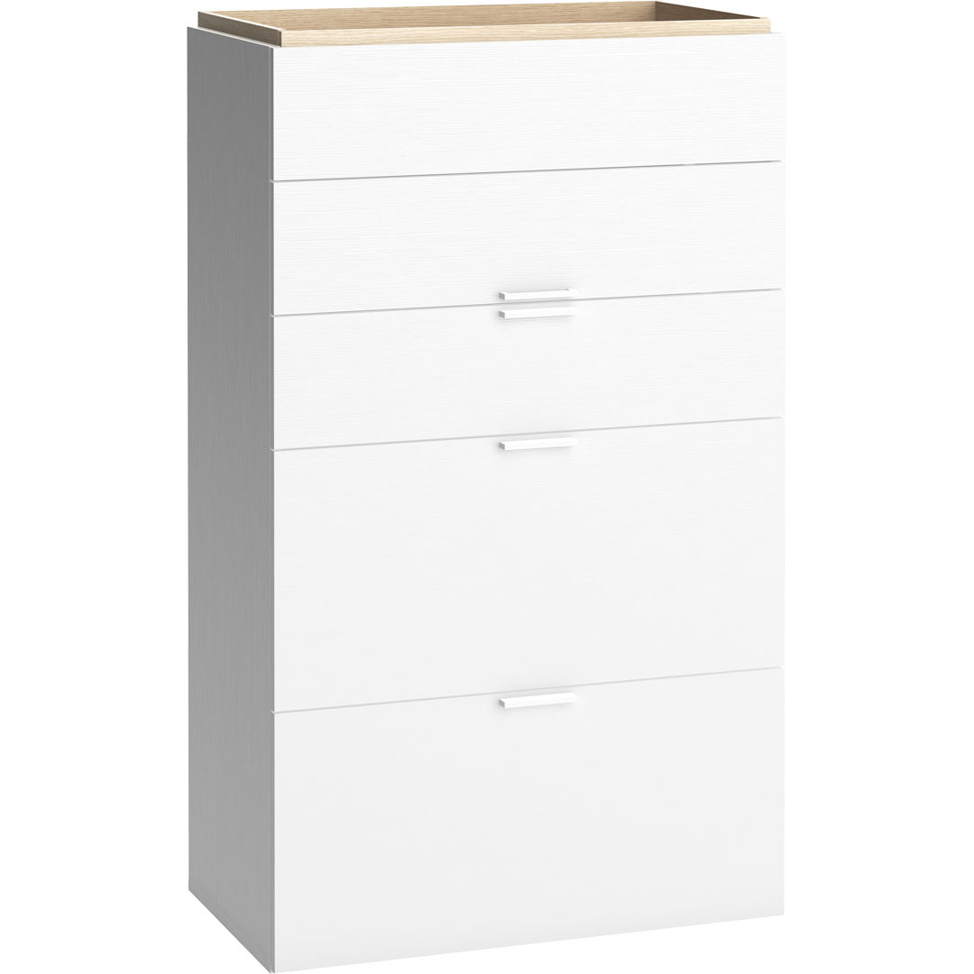 4you Chest of Drawers - White