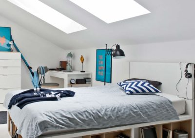 4You Double Bed - White