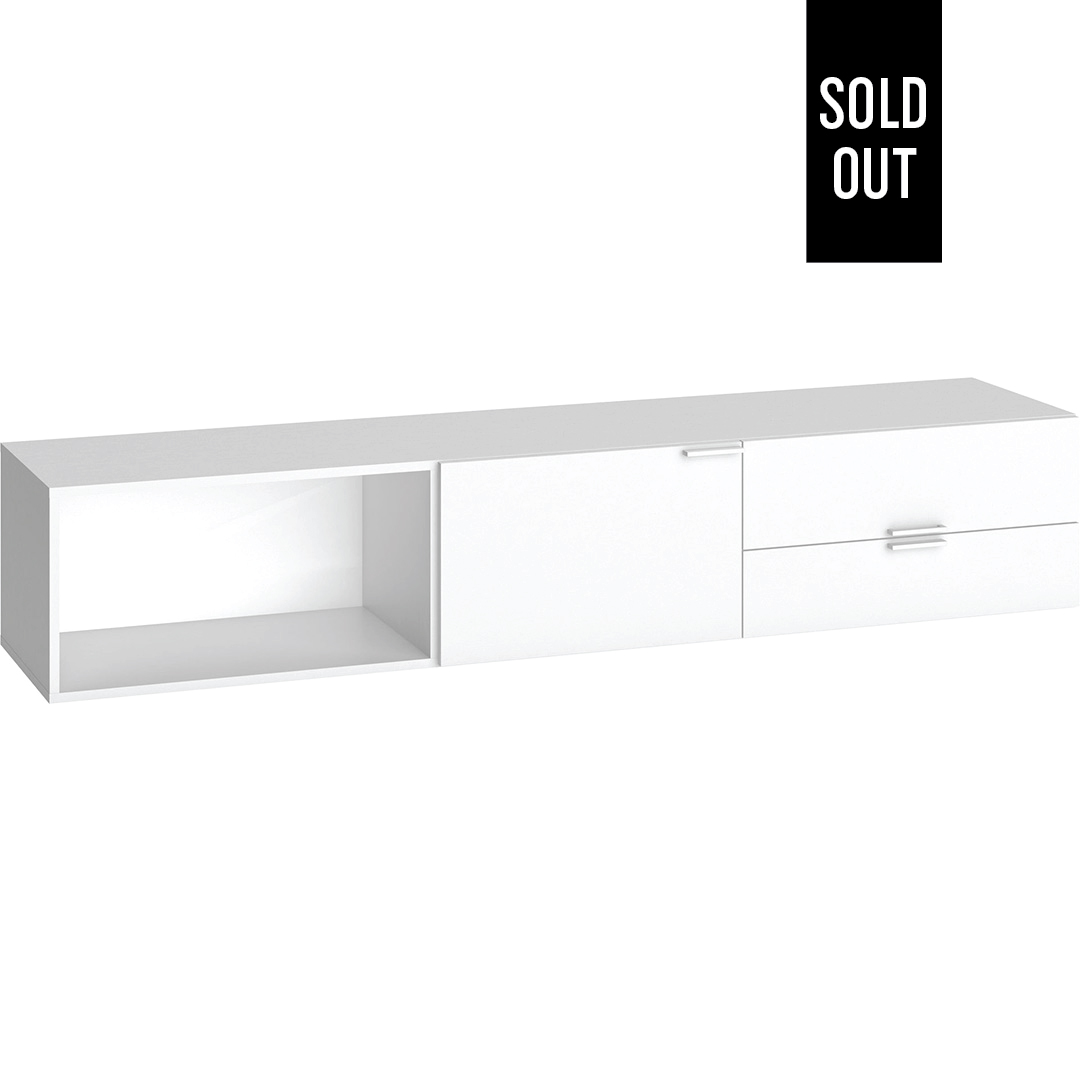 4You TV Cabinet - White