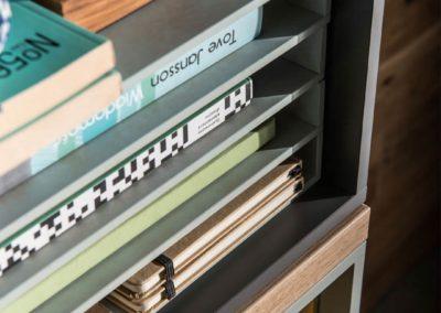Balance Small Organisers - Light Grey