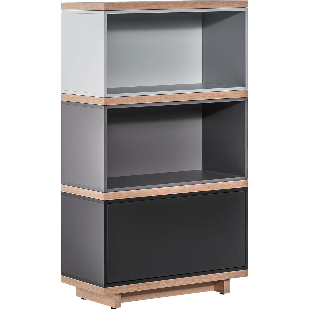 Balance Dark Narrow Bookcase