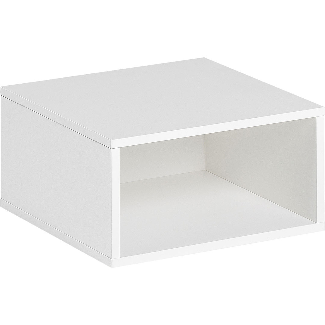 Balance Small Open Box - White