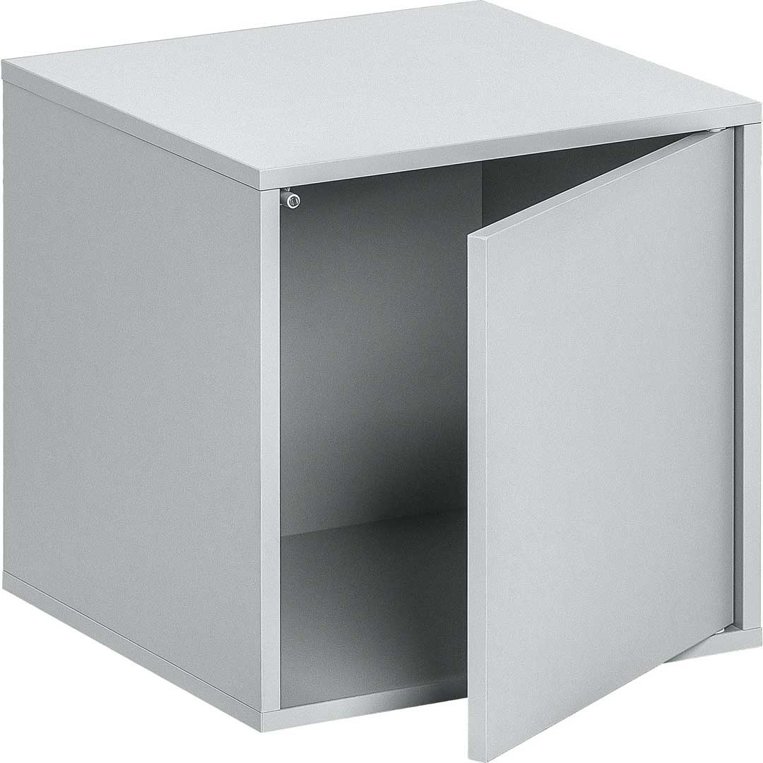 Balance Medium Box with Door - Light Grey
