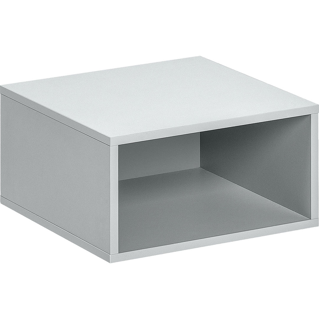 Balance Small Open Box - Light Grey