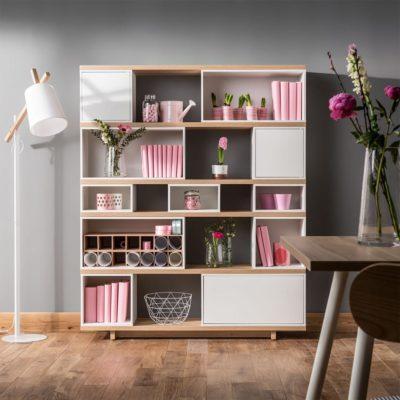 Balance Bright Wide Bookcase