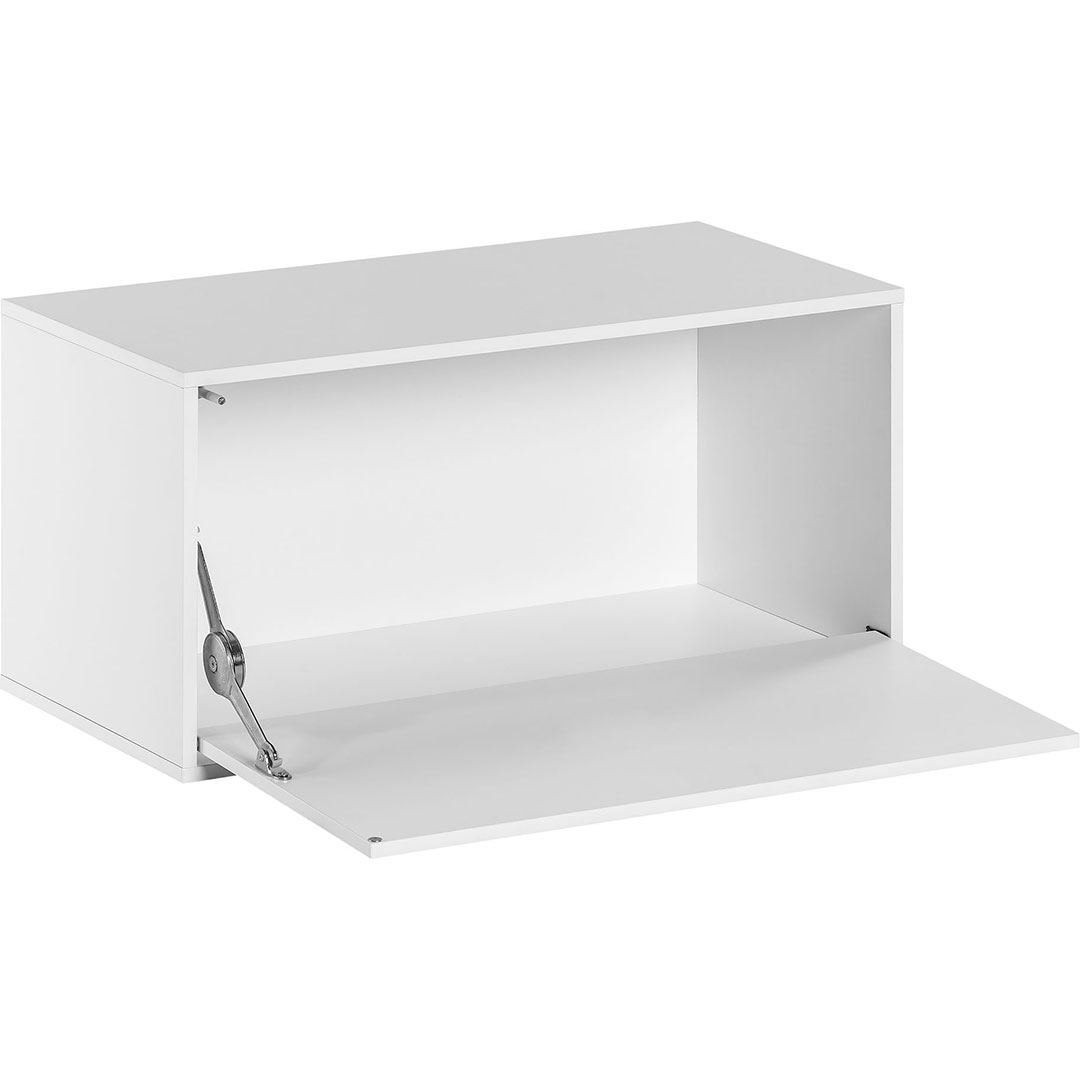 Balance Large Box with Door - White