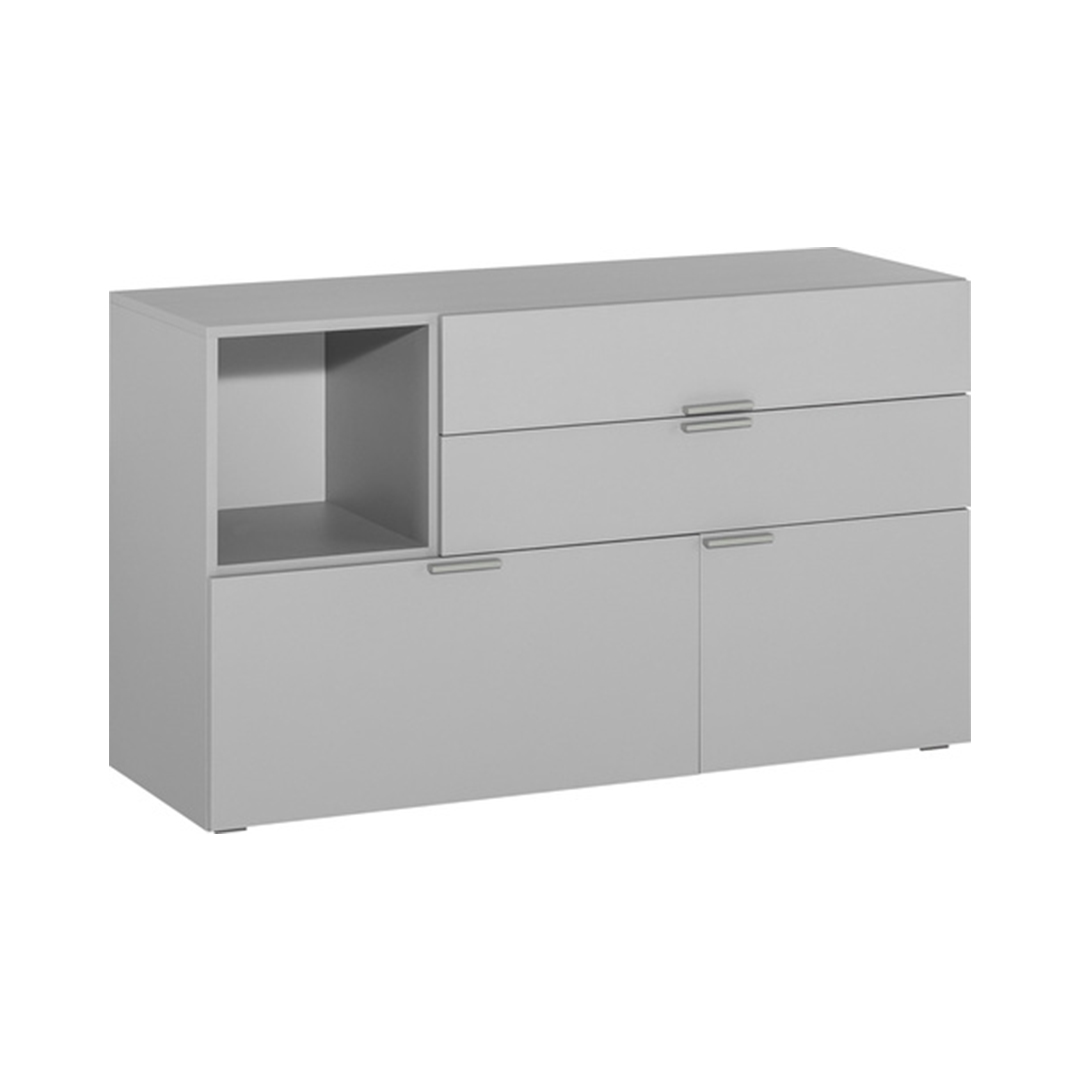 4You Low Chest of Drawers - Grey