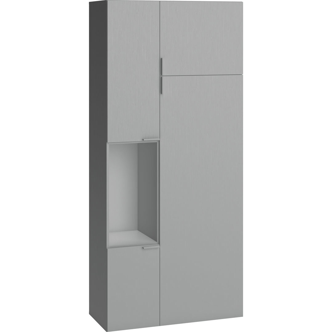 Vox 4You Two-Door Wardrobe - Grey