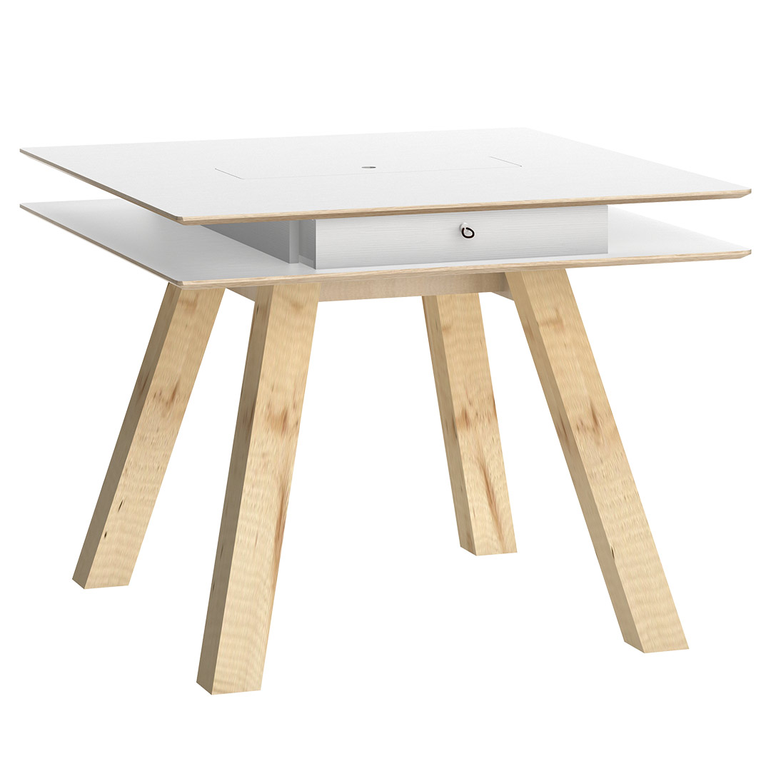 4You Table 100x100 - White