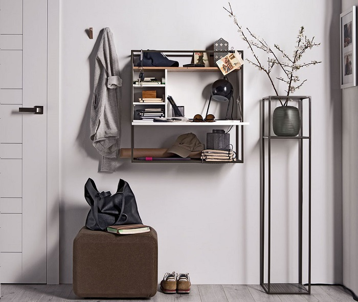 Wall Storage Ideas for Small Spaces - Wall-Mounted Desks