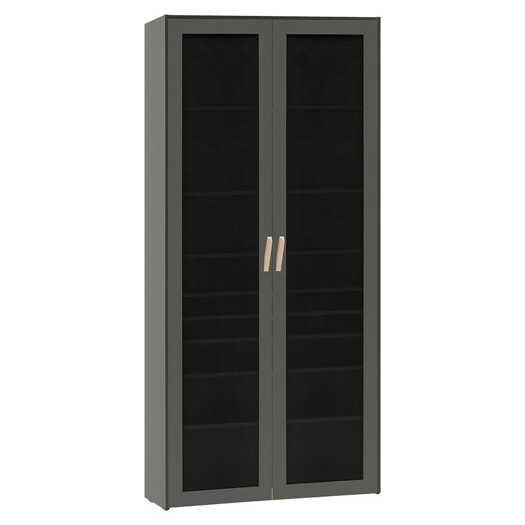 Vox Lori Wide Bookcase with Openwork Door