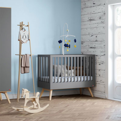 Mitra Cot Bed - Graphite