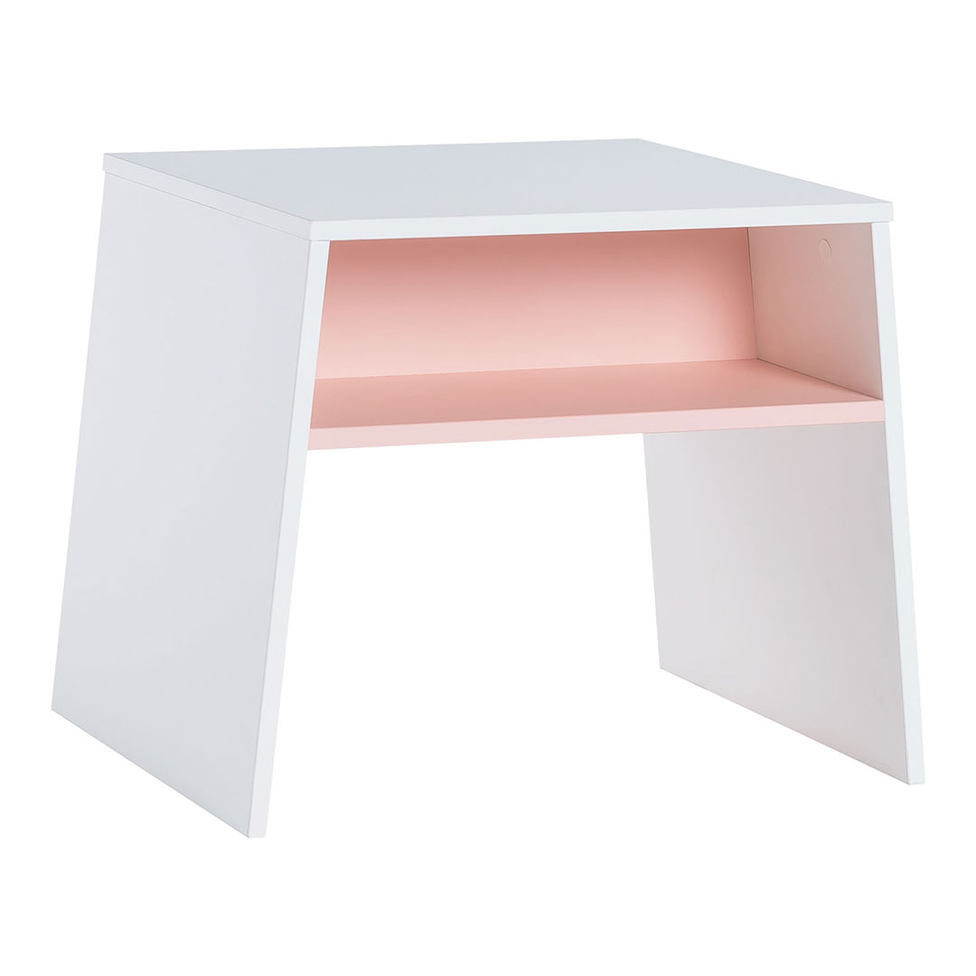 Tuli Toddler Table - White & Pink