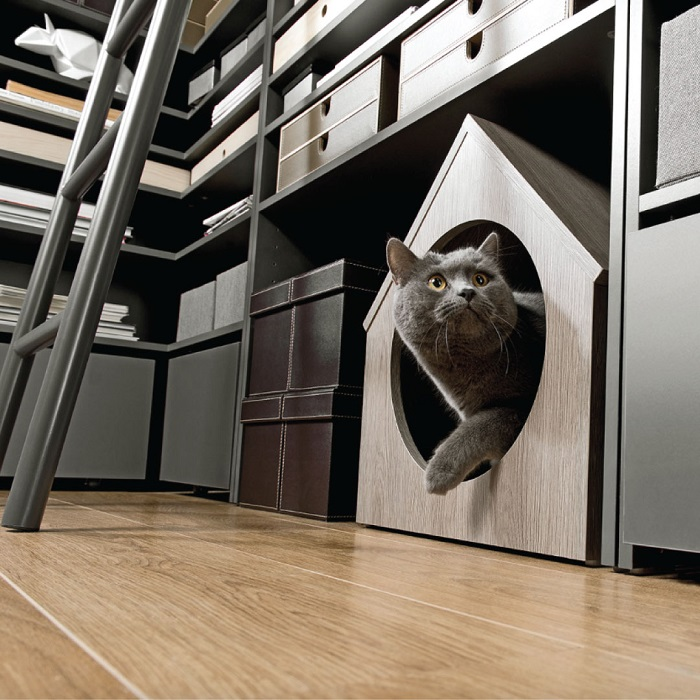 How to Create the Perfect Man Cave - Modular Shelving