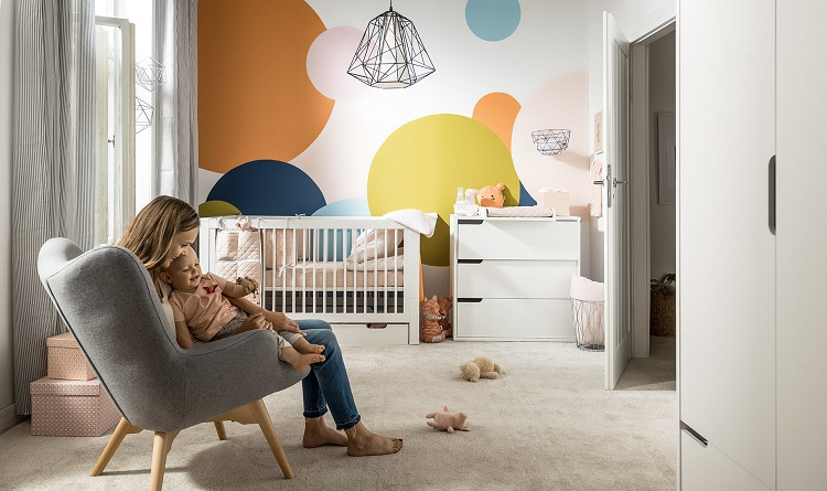 Planning a Contemporary Baby Nursery - Convertible Furniture