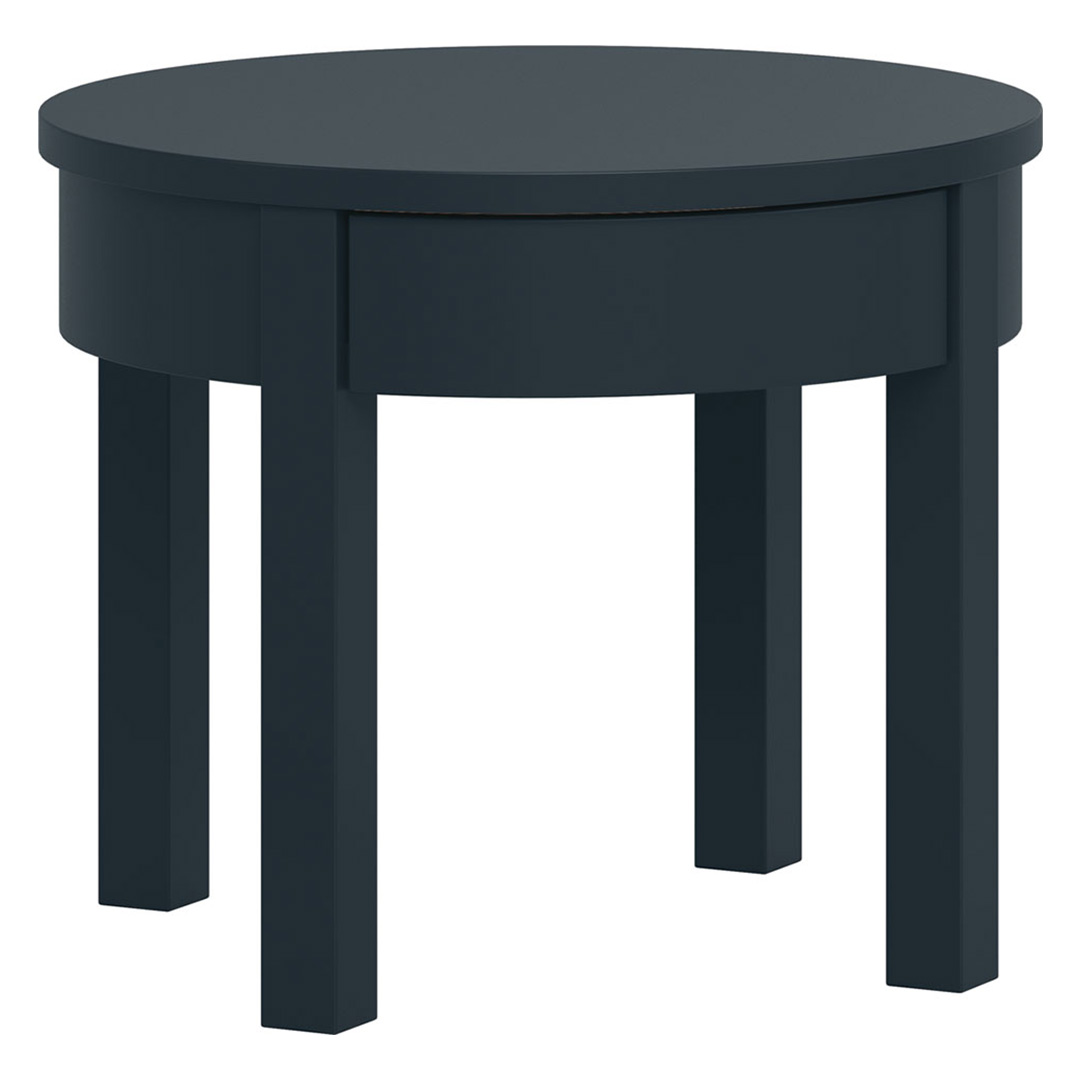 Simple High Coffee Table - Black