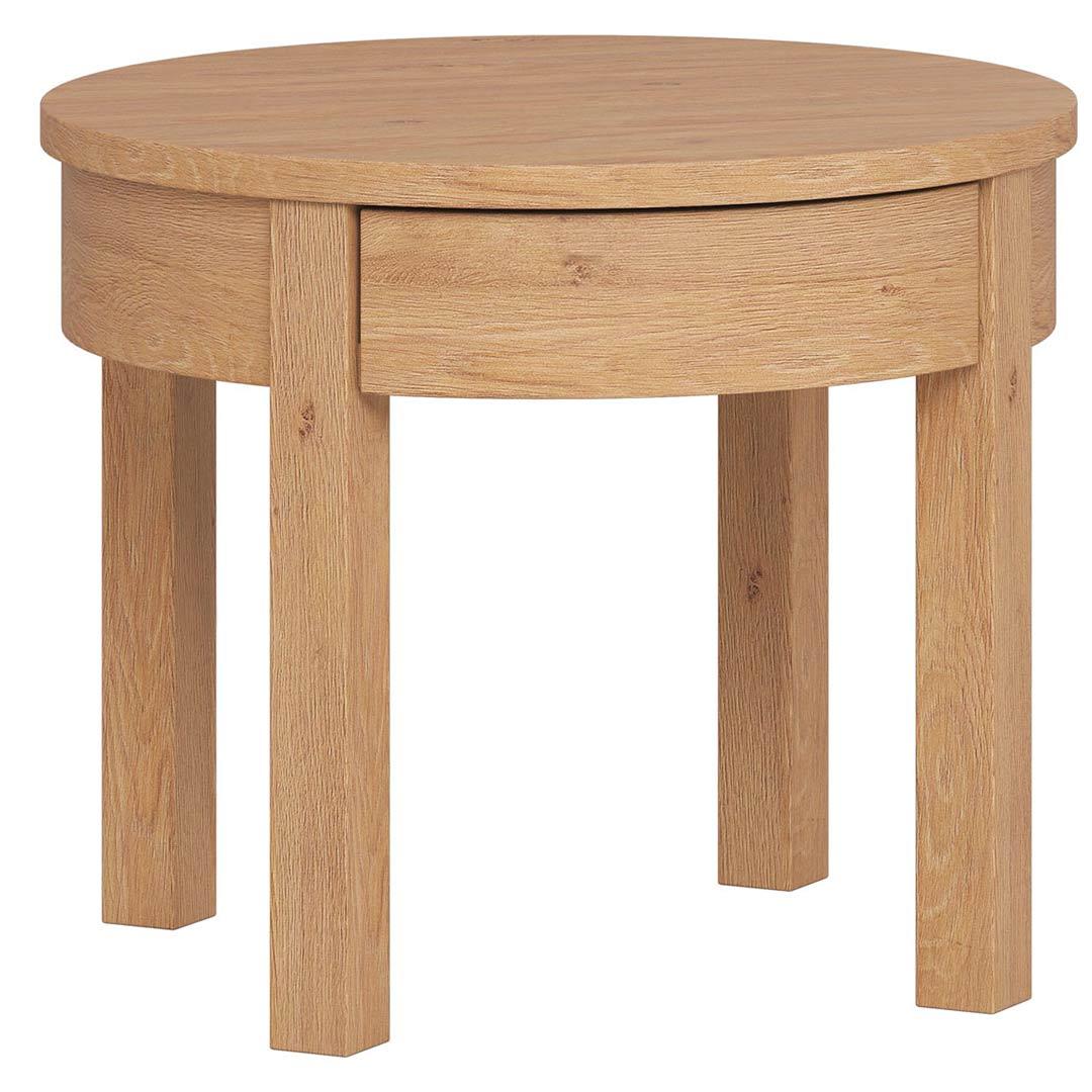 Simple High Coffee Table - Oak