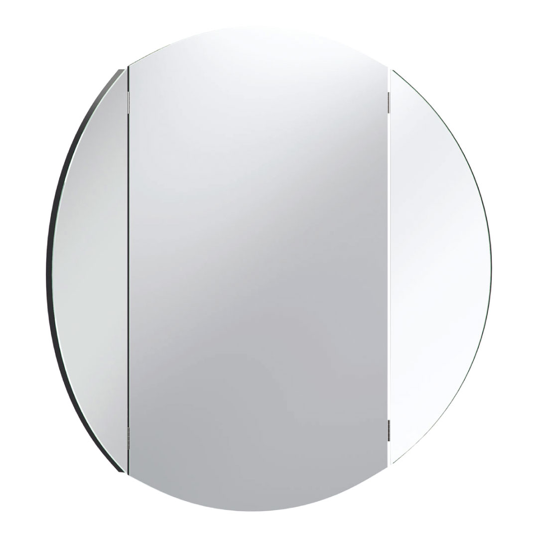 Vox Simple Round Wall Mirror - Black