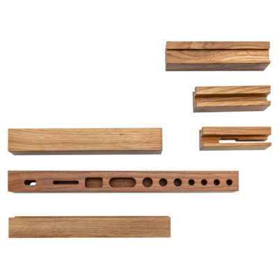 Vox Set of Accessories for Desk with Functional Slat
