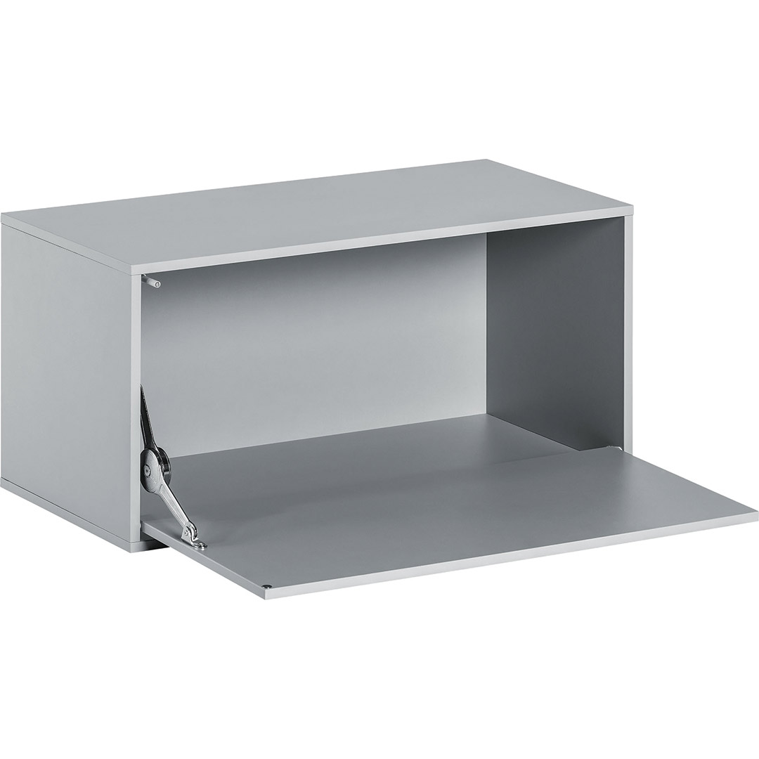 Balance Large Box with Door - Light Grey