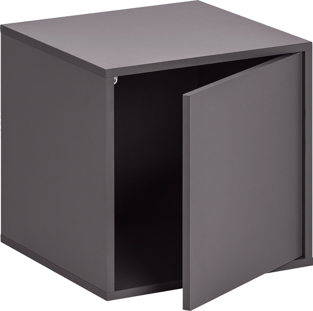 Balance Medium Box with Door - Black