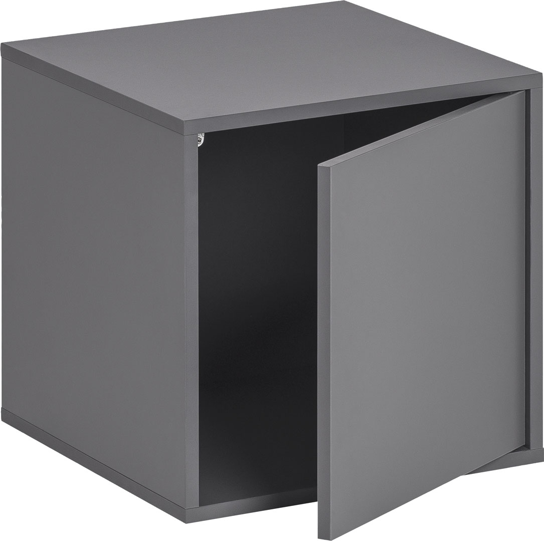 Balance Medium Box with Door - Graphite