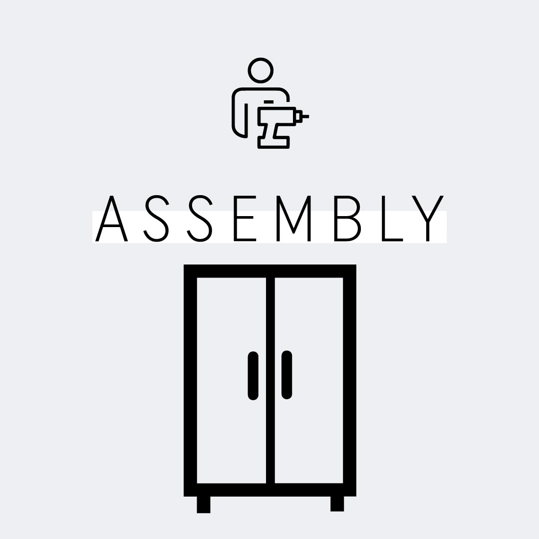 Two-Door Wardrobe Assembly