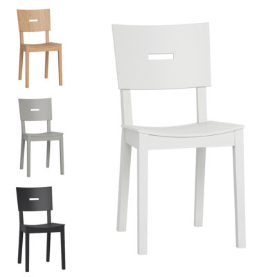 Set of 2 Simple Chairs